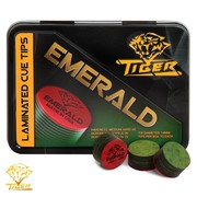 Наклейка Tiger Emerald ø13 мм Medium/Hard