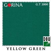 Сукно Gorina Granito Tournament 2000 193 см Yellow Green