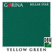 Сукно Gorina Billar Star 197 см Yellow Green